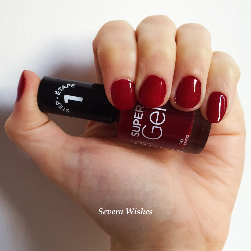 Rimmel London Super Gel Nail Varnish Review | Severn Wishes