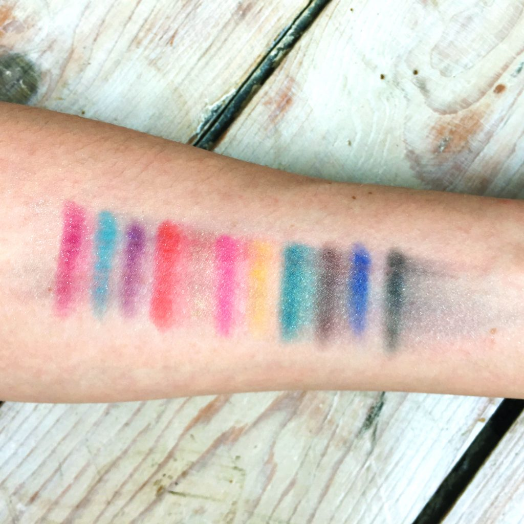 Swatches Smudged