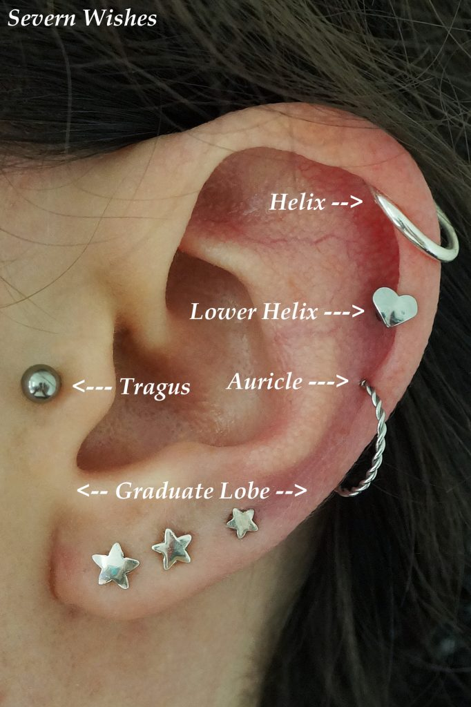 Types Of Piercings On My Ears