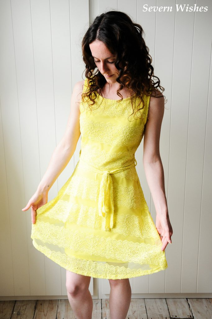 Yellow Dress One SW