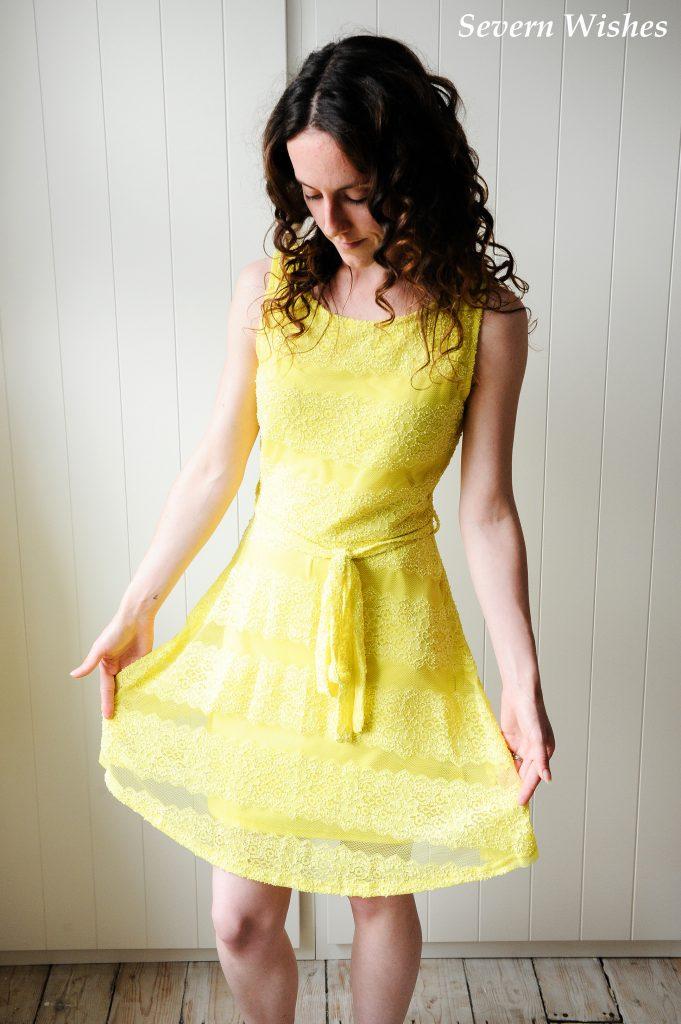 Yellow Dress One SW