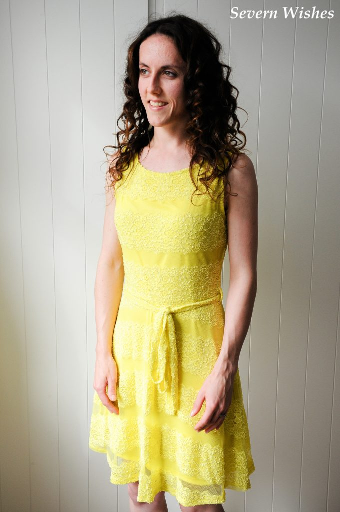 Yellow Dress Two SW